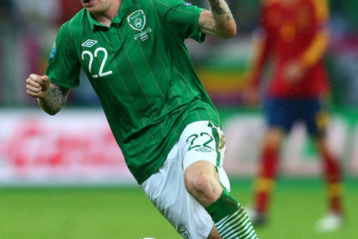 James McClean has apologised for last night's Twitter shenanigans.
