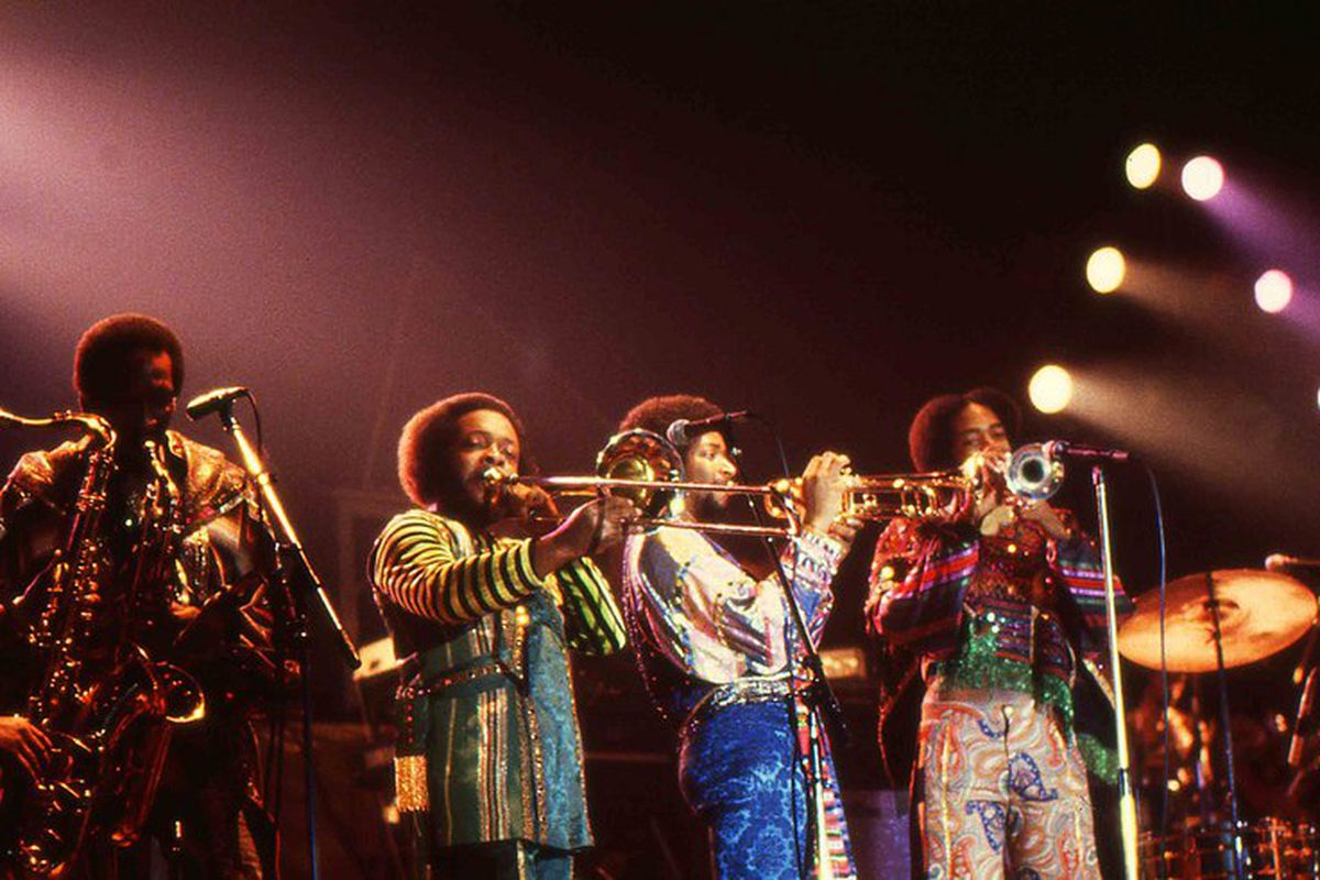 Earth, Wind and Fire in 1982