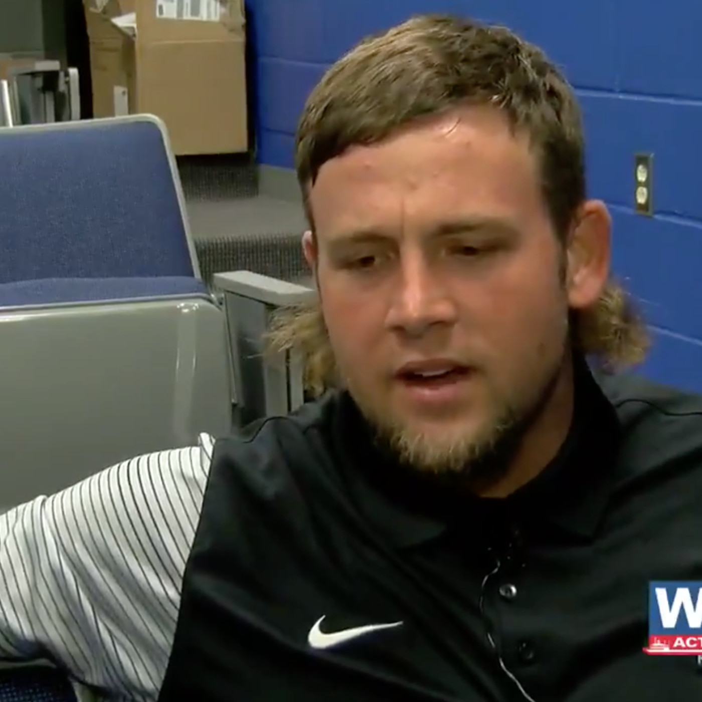 college football player on his mullet: 'not a haircut. a lifestyle