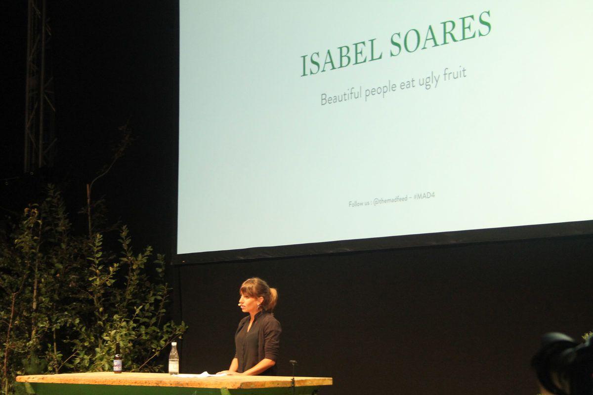 Isabel Soares of Fruta Feia in Portugal