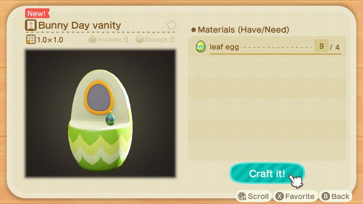 EUiio bUcAUDhVc - Animal Crossing: New Horizons - Progetti caccia all'uovo