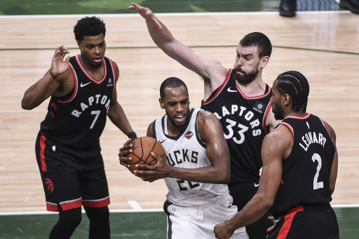 Image result for raptors bucks game 2 usa today