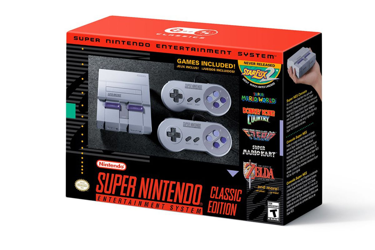 Nintendo Promises Significantly More Snes Classics Than Nes