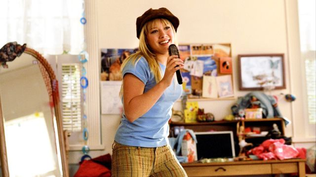 Hilary Duff stars as Lizzie McGuire in the Lizzie McGuire movie