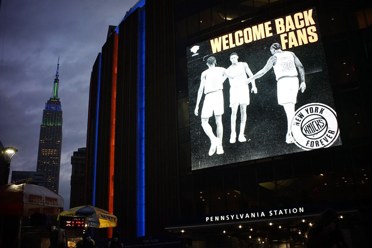 Madison Square Garden Reopens For The First Time Since Start Of COVID-19 Pandemic