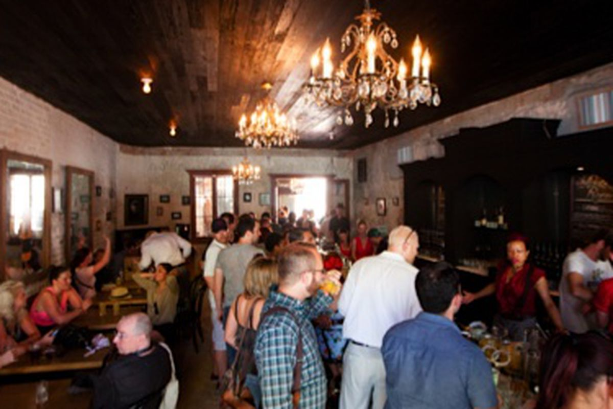 The Irish Whiskey House at Cane and Table