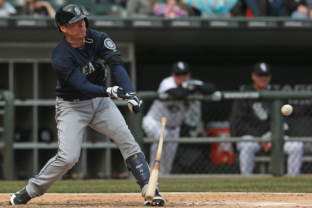 I loved Brendan Ryan as a Mariner, but he was maybe not so good with the bat sometimes.