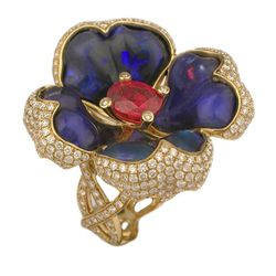 """Katherine Jetter <a href=""""http://www.stoneandstrand.com/rings/queen-ruby-ii-ring"""">Queen Ruby II Ring</a>, $28,000"""