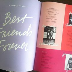 """The theme of Super Nasty's first issue is """"Best Friends Forever"""""""