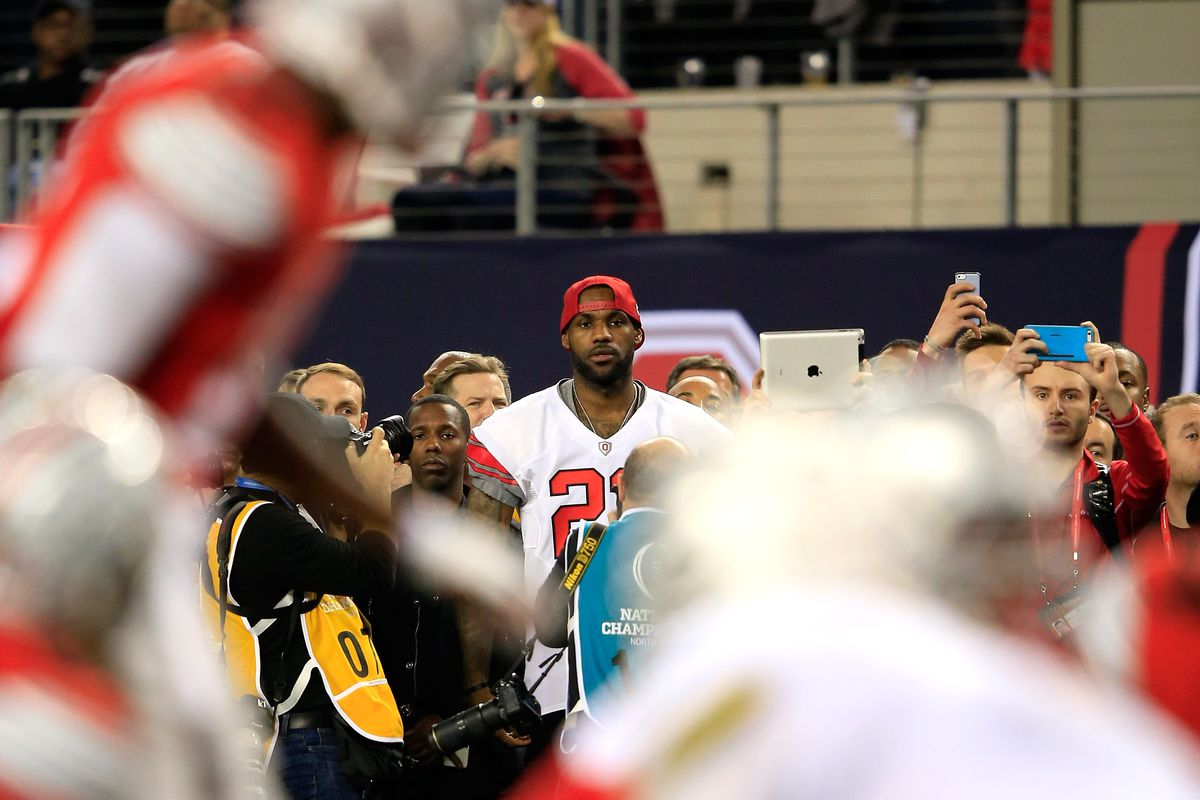 faf17193d015 LeBron James and Alabama have almost the same postseason every year ...