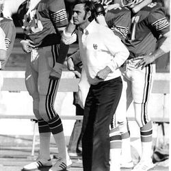 "Former University of Utah football coach Wayne Howard helped escalate the Utah-BYU rivalry by using the word ""hatred."""