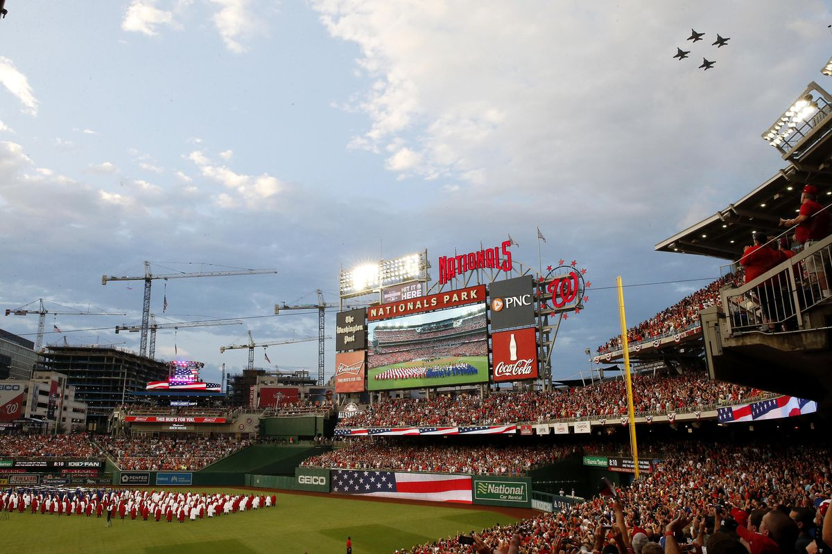 ed43b7f4 Column: Nationals Park MLB All-Star Game showed Washington, D.C. shining in  national spotlight