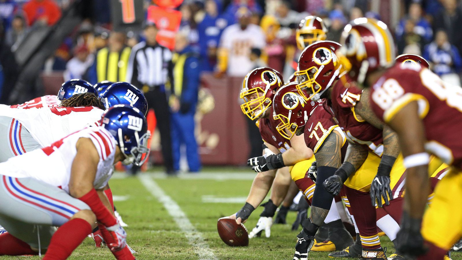 Held at bay throughout most of a blowout loss on Monday night Washington Redskins running back Adrian Peterson said after the defeat against the Saints he suffered a