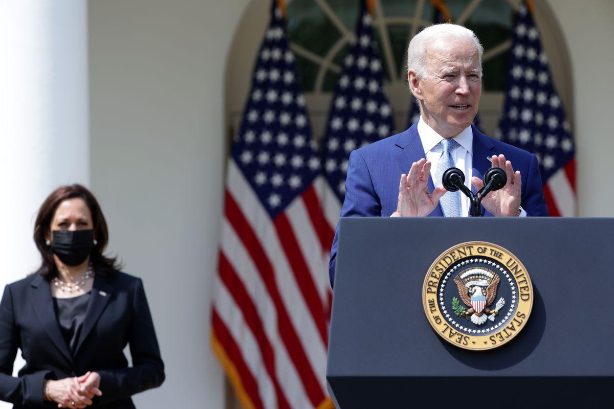 President Biden Delivers Remarks On Gun Violence Prevention From White House Rose Garden