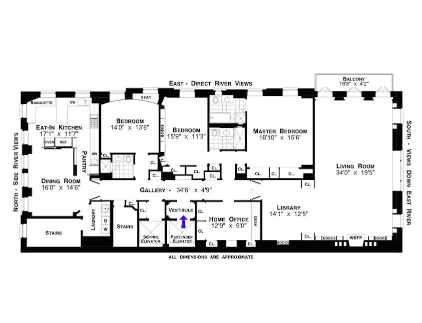 Listing 450 East 52nd Street 5fl Halstead Greta Garbo S