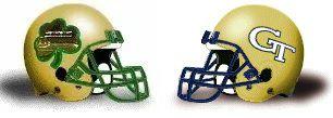 Ga Tech helmet