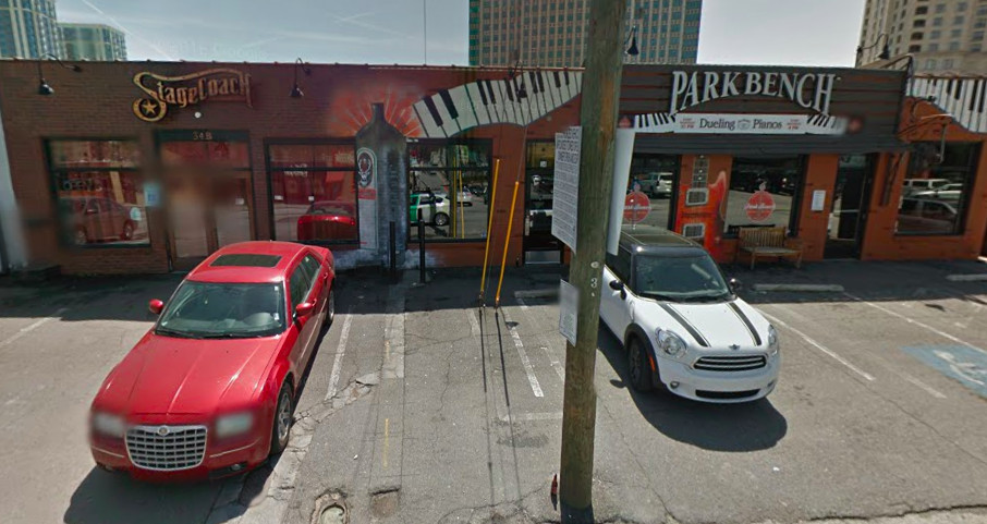 The former Park Bench bar next to Stagecoach on Irby Avenue in Buckhead