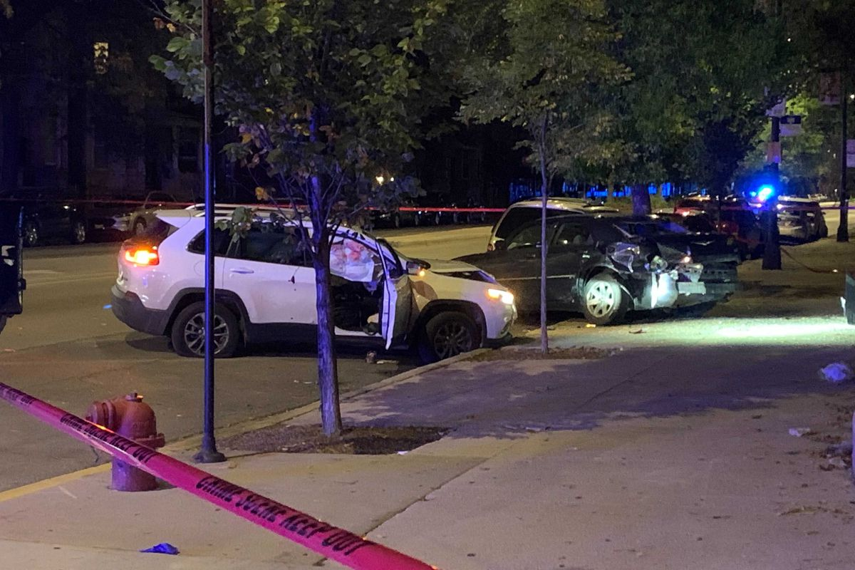 A man was critically wounded in a shootout, Oct. 5, 2021, in Horner Park.