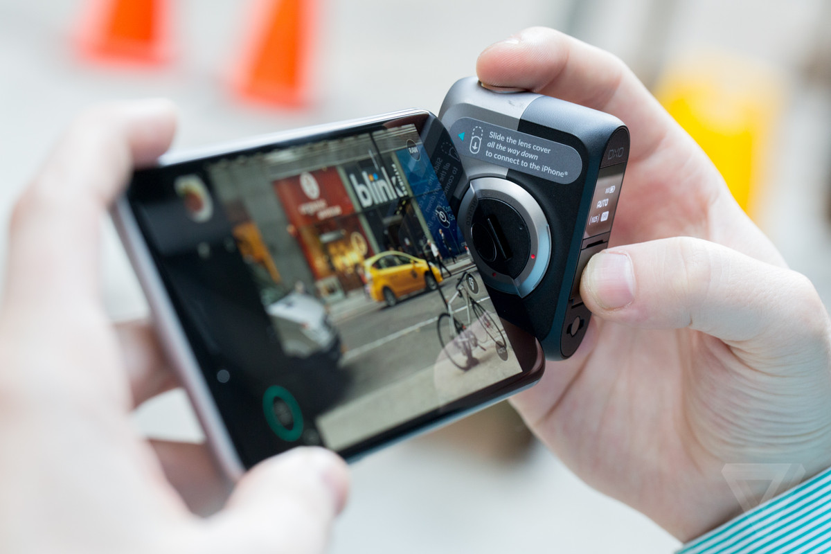 dxo 39 s detachable smartphone camera is finally coming to. Black Bedroom Furniture Sets. Home Design Ideas