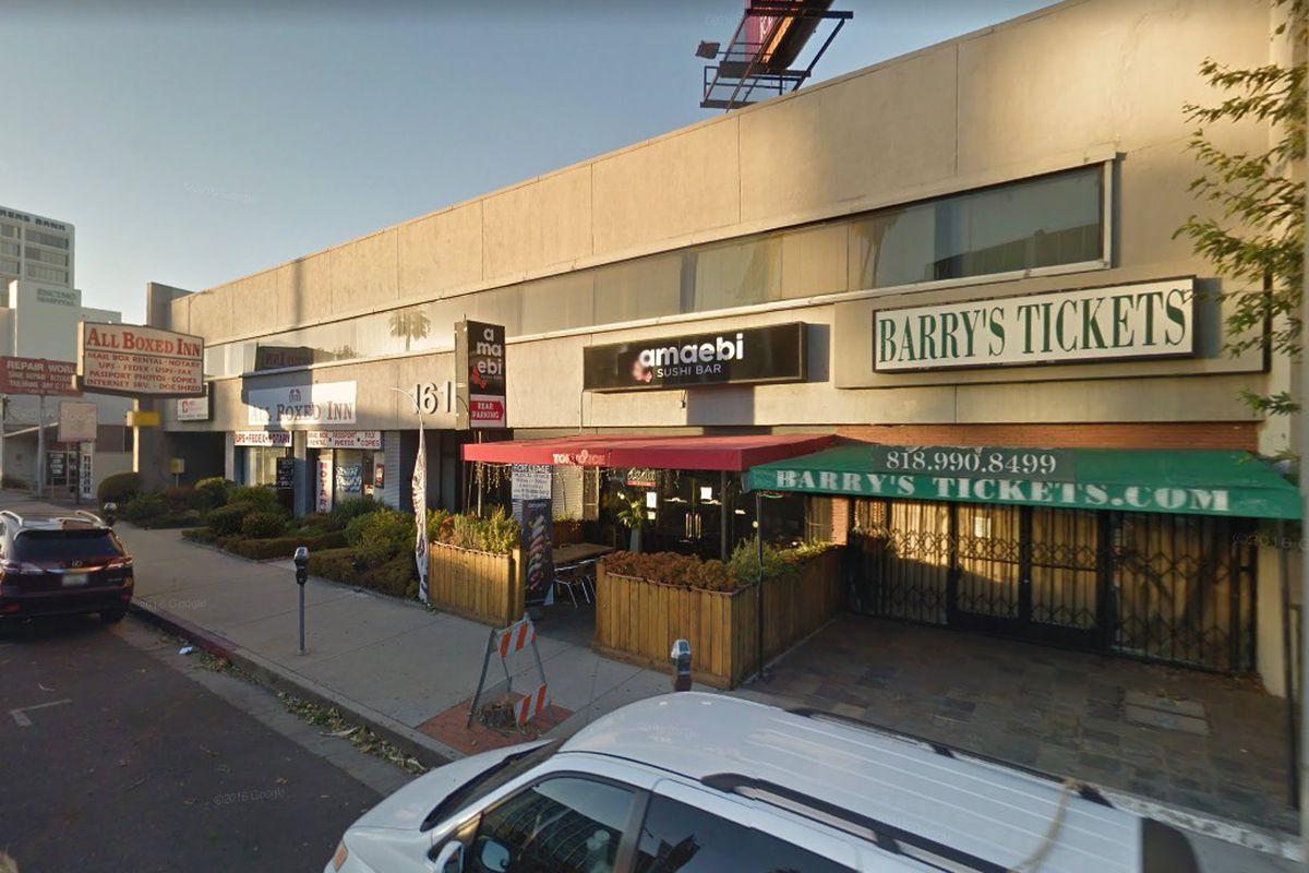 Commercial building on Ventura Boulevard
