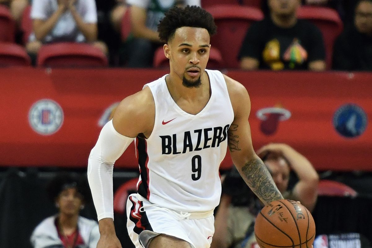 trail blazers dismantle lakers to capture 2018 summer league title