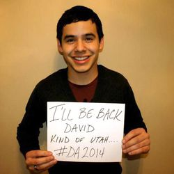 """""""American Idol"""" star David Archuleta Sunday, March 25, 2012, at his house in Murray, before leaving for the Missionary Training Center as part of his LDS mission."""