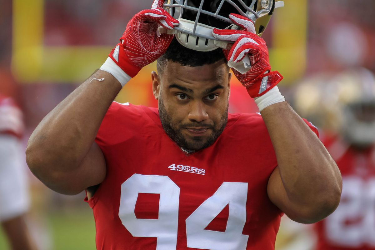 2ab1f5d95 49ers finally playing Solomon Thomas primarily at LEO - Niners Nation