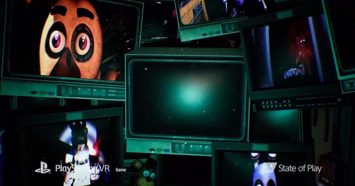 Five Nights at Freddy's announced for PlayStation VR - Polygon