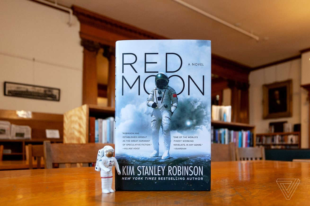 red moon is a novel full of fascinating ideas that never come together