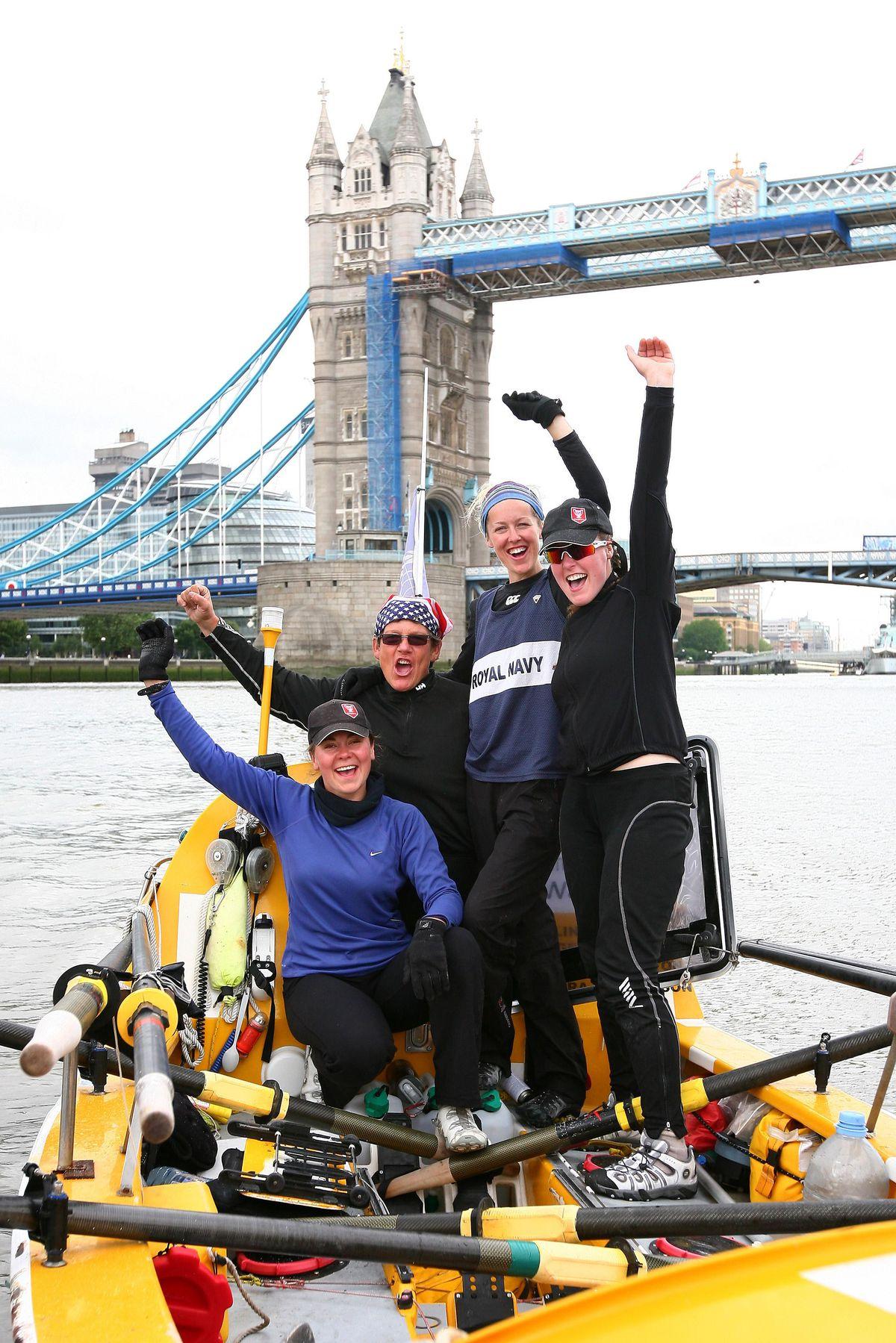 Virgin GB Row 2010 challenge