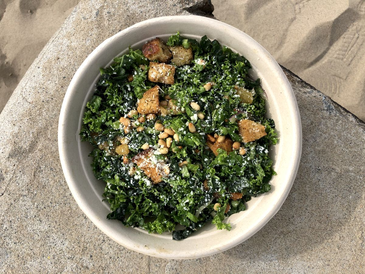Shaved kale salad from the Win~Dow in Venice.