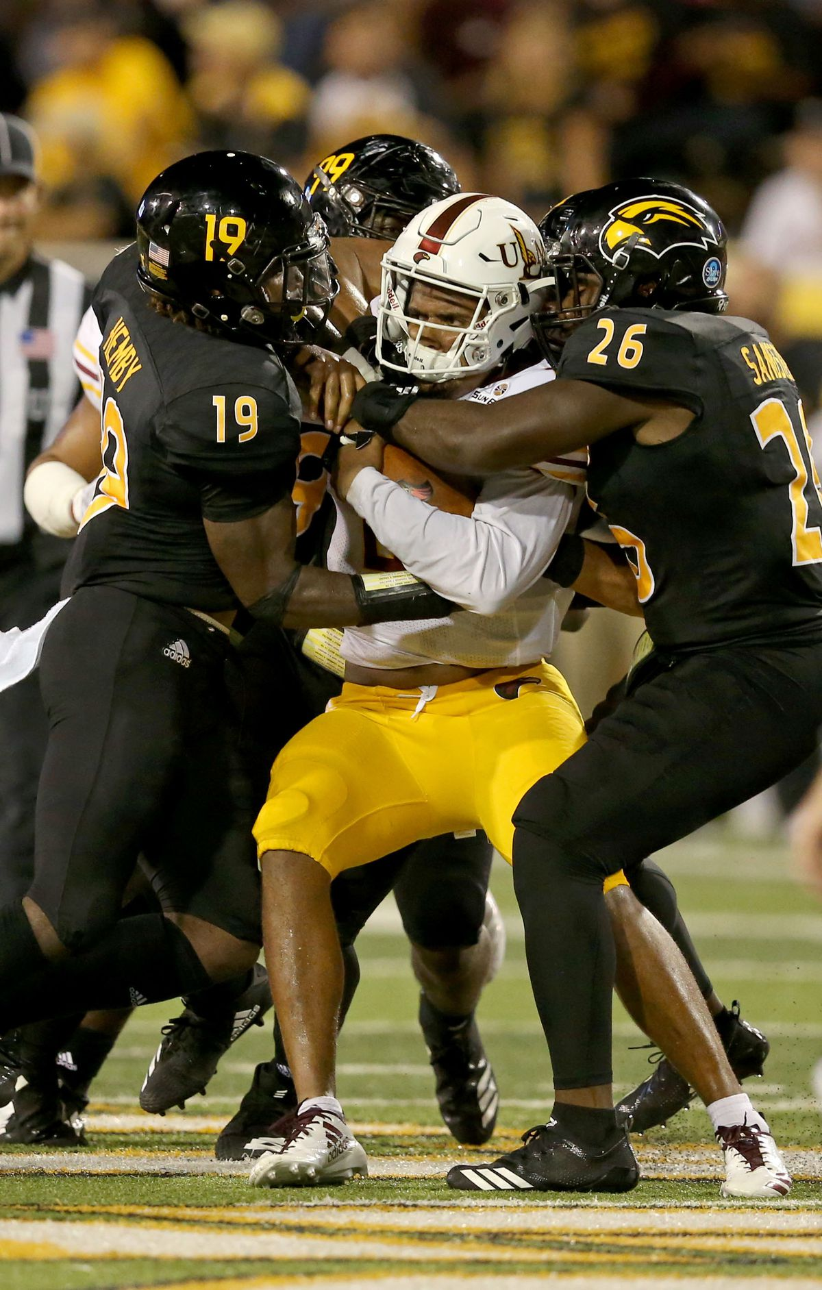 NCAA Football: UL Monroe at Southern Mississippi