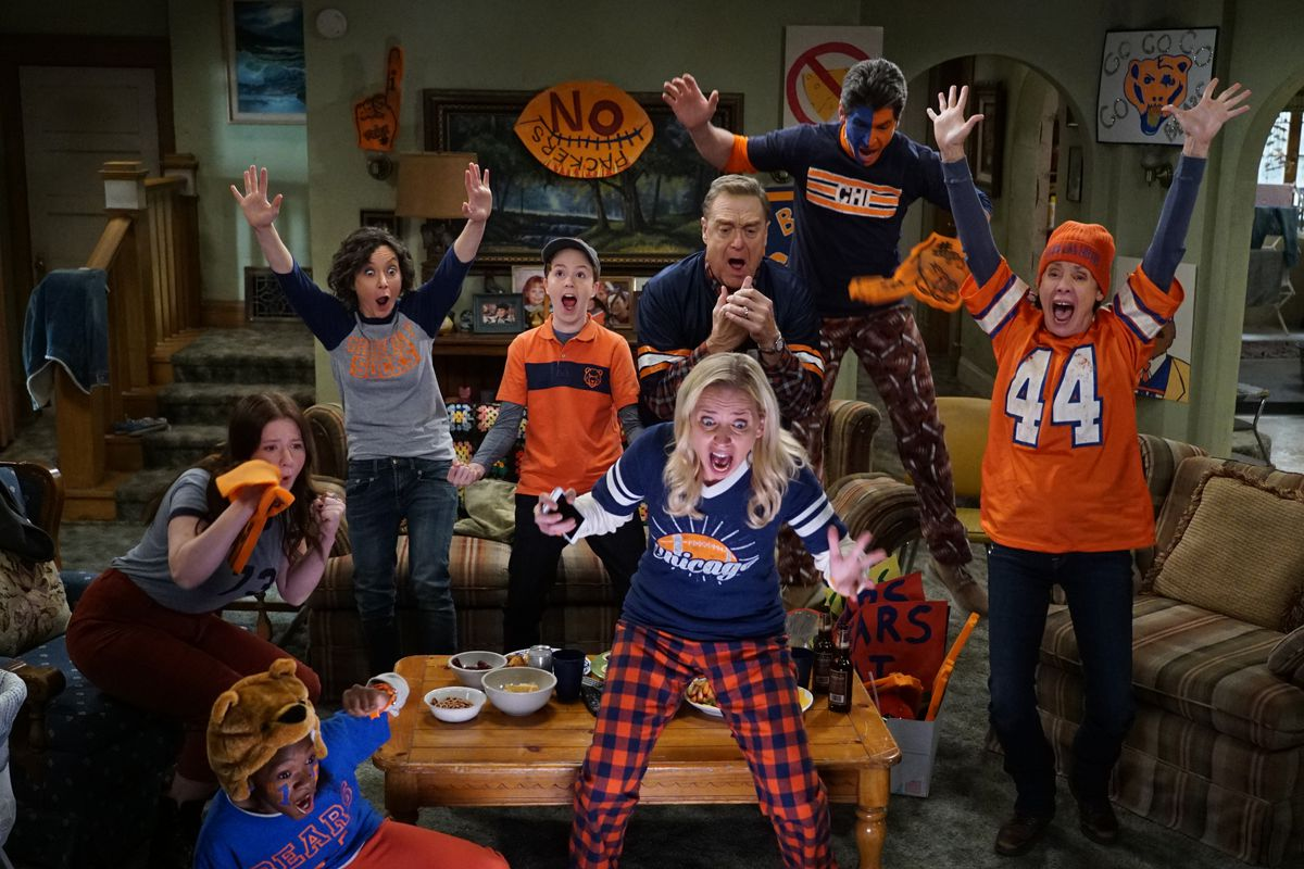 On 'The Conners,' a Packer fan tests the tolerance of a Bears-loving family