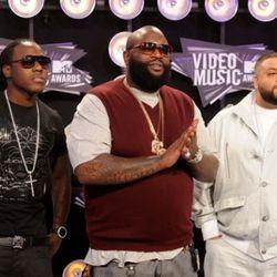 Ace Hood, Rick Ross, and DJ Khaled