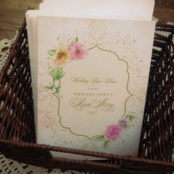 """<span class=""""credit"""">Wedding Paper Divas provided the whimsical party's stationery.</span>"""