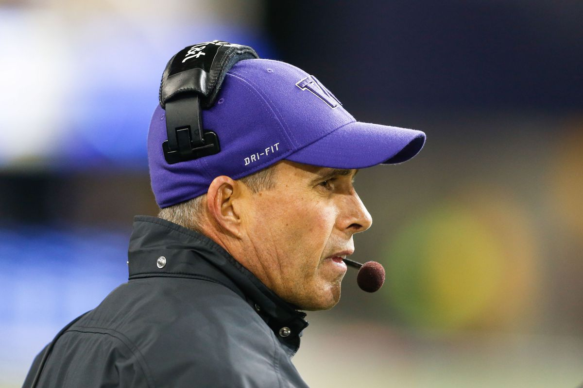 Chris Petersen is driving towards a strong close to a quality class at the end of his first full year at Washington