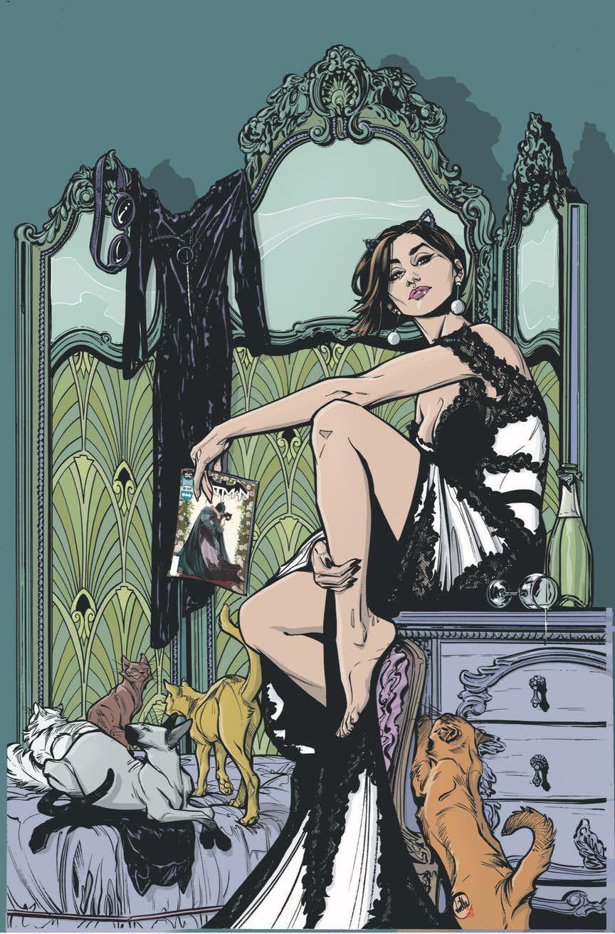今年夏天即将推出新的Catwoman漫画系列