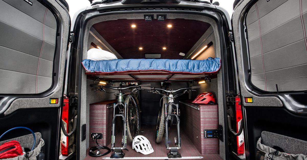 Used Mercedes Sprinter Van >> Ford Transit camper van sleeps four in style - Curbed