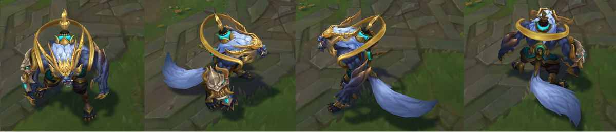 2018 lunar revel skins empress lux and guardian nasus and warwick