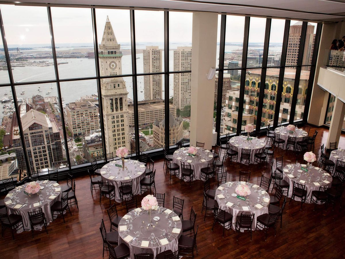 This Venue On The 33rd Floor Of Commercial Skyser Can Accommodate Around 900 Guests Up To 500 For Dinner And There Is Option Have Both