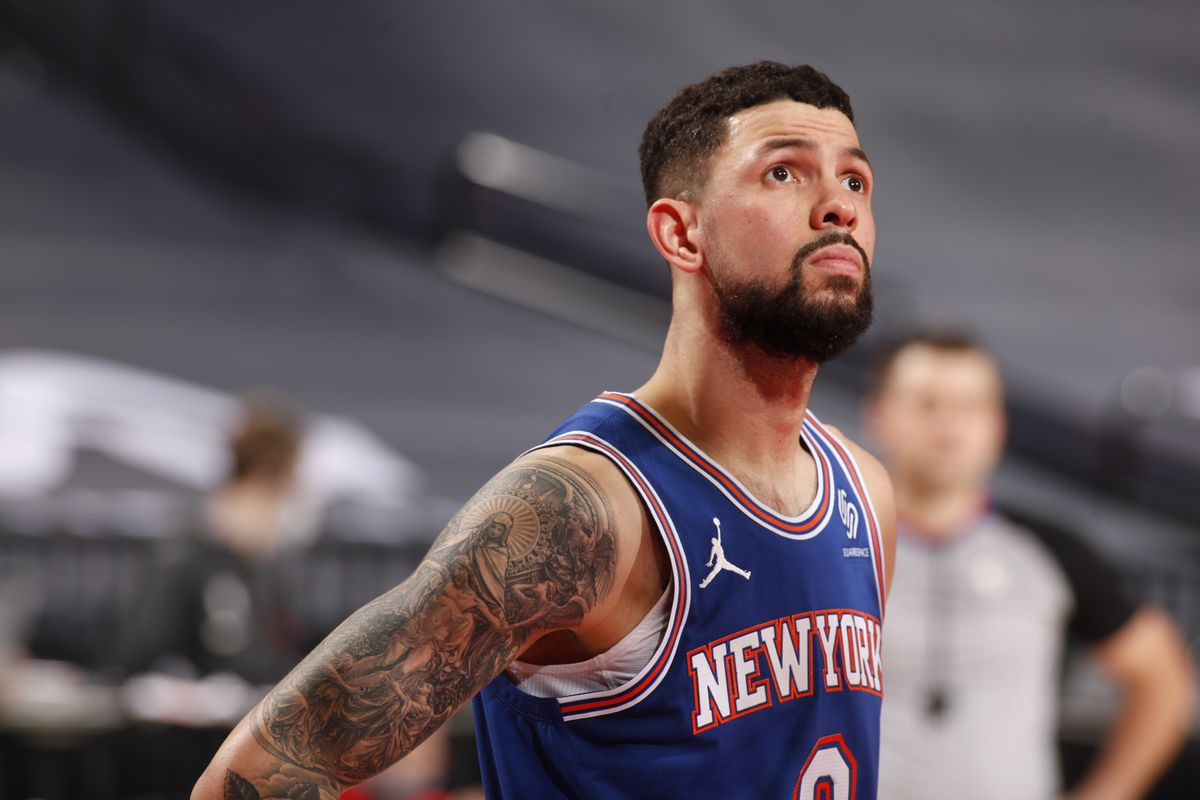Austin Rivers Stats Knicks Guard Scores 25 First Half Points Vs Jazz Draftkings Nation