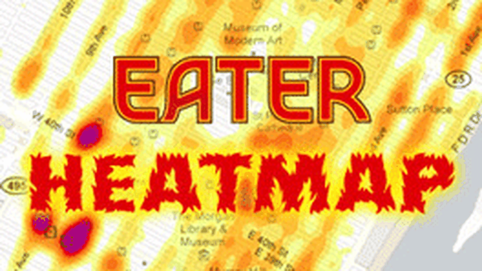 Francois Illas New Tradition: Updating The Eater Heatmap, September 2012
