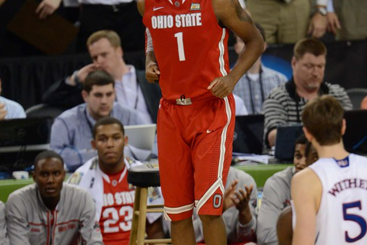Deshaun Thomas and the Buckeyes have the 9th best odds to win the 2012-2013 NCAA Men's Basketball Championship.