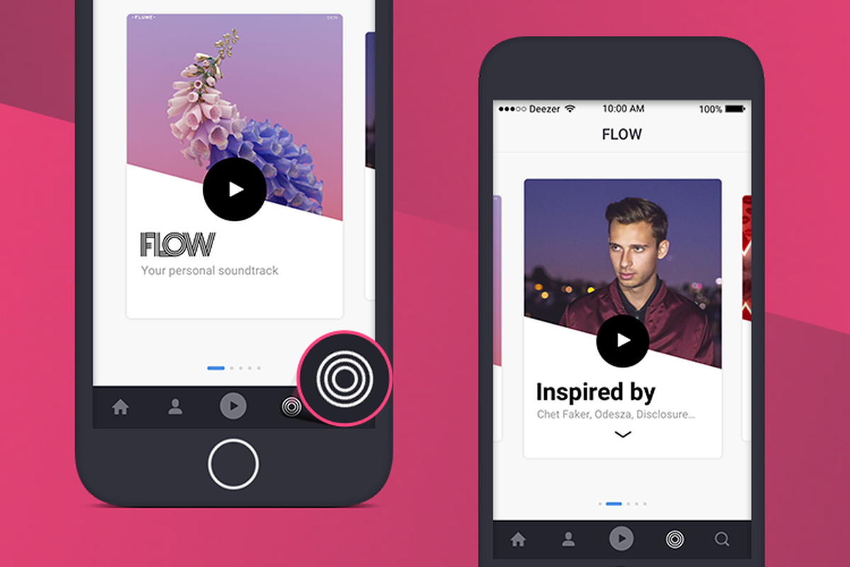Deezer's new Flow Tab creates daily personalized tracklists - The Verge