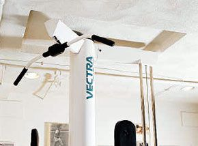<p>Camouflage the Obvious: It's easier to disguise some water lines with paint than it is relocate them. Creative framing in the ceiling of this basement accommodates the oversize exercise equipment.</p>