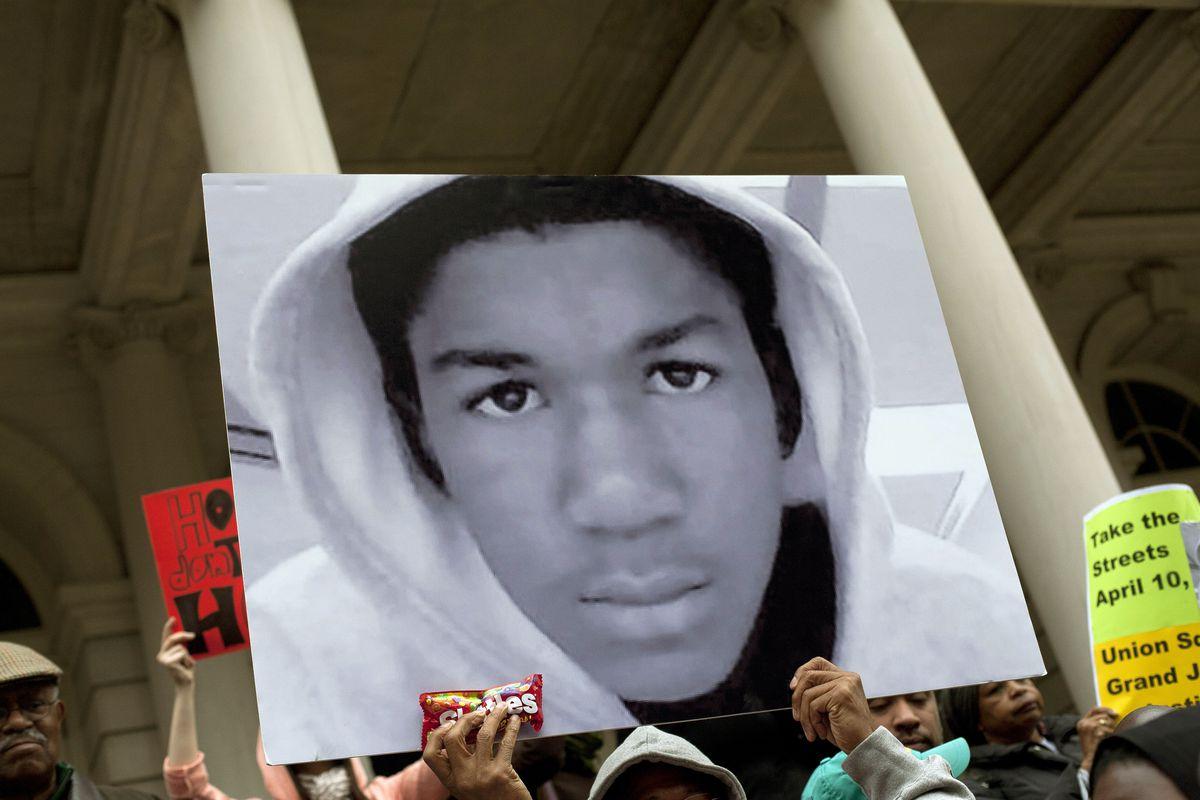 Trayvon Martin protest in New York City
