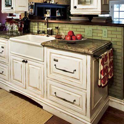 Kitchen Cabinets With Antique Look