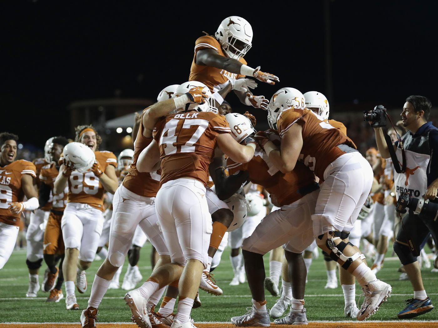Let's always cherish that moment when we thought Notre Dame-Texas