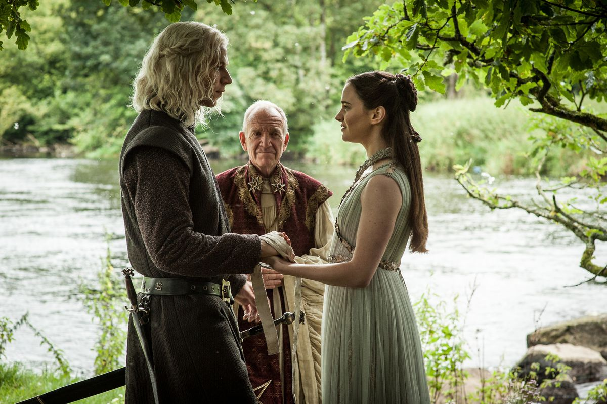 jon snow's parents getting married - game of thrones season 7