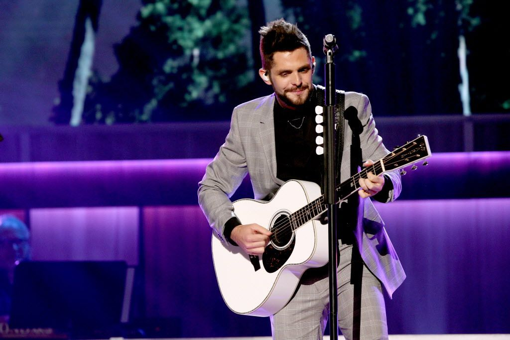 """Singer-songwriter Thomas Rhett performs onstage during the 11th Annual ACM Honors at the Ryman Auditorium on August 23, 2017 in Nashville, Tennessee. His upcoming album, """"Life Changes,"""" is one of the most anticipated of the fall.   Terry Wyatt/Getty Image"""
